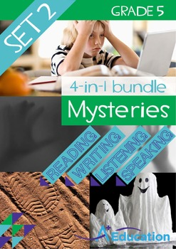 4-IN-1 BUNDLE- Mysteries (Set 2) – Grade 5