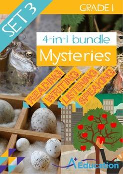 4-IN-1 BUNDLE- Mysteries (Set 3) – Grade 1
