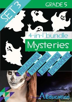 4-IN-1 BUNDLE- Mysteries (Set 3) – Grade 5