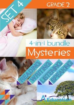 4-IN-1 BUNDLE- Mysteries (Set 4) – Grade 2
