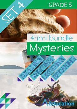 4-IN-1 BUNDLE- Mysteries (Set 4) – Grade 5