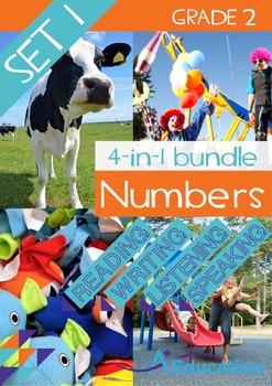 4-IN-1 BUNDLE- Numbers (Set 1) – Grade 2