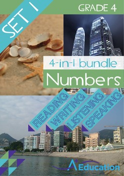 4-IN-1 BUNDLE- Numbers (Set 1) – Grade 4