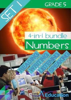 4-IN-1 BUNDLE- Numbers (Set 1) – Grade 5