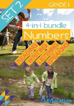 4-IN-1 BUNDLE- Numbers (Set 2) – Grade 1