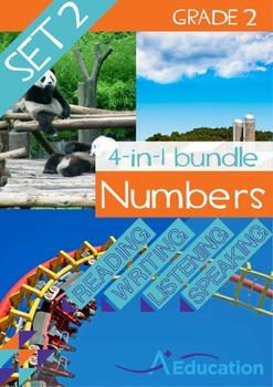 4-IN-1 BUNDLE- Numbers (Set 2) – Grade 2
