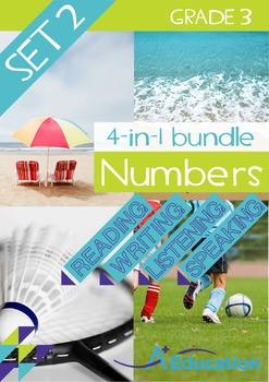 4-IN-1 BUNDLE- Numbers (Set 2) – Grade 3