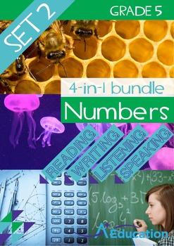 4-IN-1 BUNDLE- Numbers (Set 2) – Grade 5