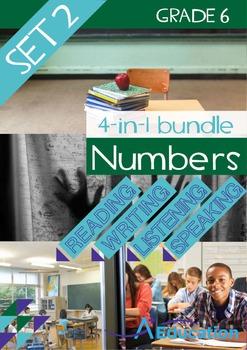 4-IN-1 BUNDLE- Numbers (Set 2) – Grade 6