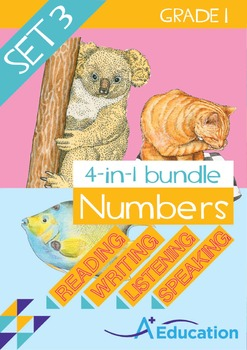 4-IN-1 BUNDLE- Numbers (Set 3) – Grade 1