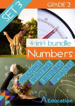 4-IN-1 BUNDLE- Numbers (Set 3) – Grade 2