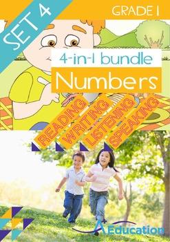 4-IN-1 BUNDLE- Numbers (Set 4) – Grade 1