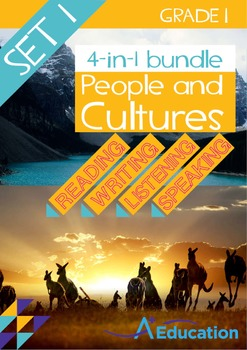 4-IN-1 BUNDLE - People and Cultures (Set 1) - Grade 1