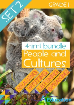4-IN-1 BUNDLE - People and Cultures (Set 2) - Grade 1