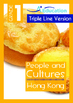 4-IN-1 BUNDLE- People and Cultures (Set 1) - Grade 1 (with 'Triple-Track Lines')