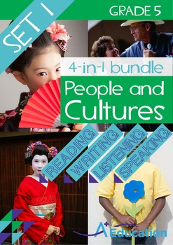 4-IN-1 BUNDLE - People and Cultures (Set 1) - Grade 5