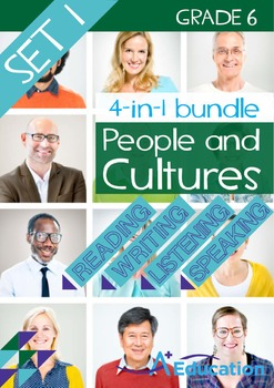 4-IN-1 BUNDLE - People and Cultures (Set 1) - Grade 6