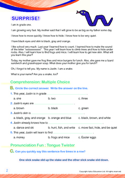 4-IN-1 BUNDLE - School (Set 1) Grade 1 ('Triple-Track Writing Lines')