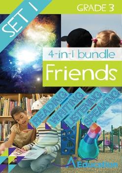 4-IN-1 BUNDLE- Friends (Set 1) - Grade 3