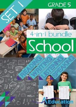 4-IN-1 BUNDLE- School (Set 1) – Grade 5