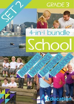 4-IN-1 BUNDLE- School (Set 2) – Grade 3