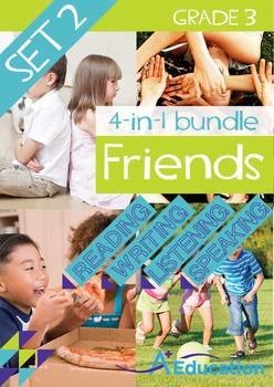 4-IN-1 BUNDLE- Friends (Set 2) - Grade 3