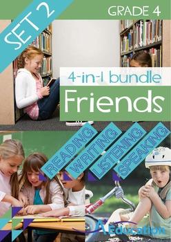 4-IN-1 BUNDLE- Friends (Set 2) - Grade 4