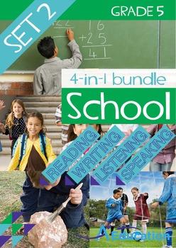 4-IN-1 BUNDLE- School (Set 2) – Grade 5