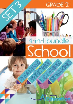 4-IN-1 BUNDLE- School (Set 3) – Grade 2