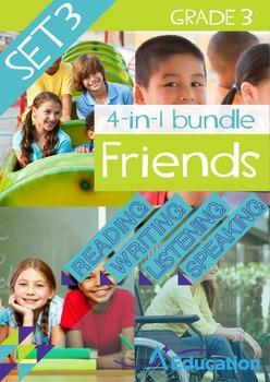 4-IN-1 BUNDLE- Friends (Set 3) - Grade 3