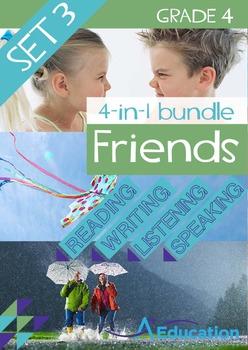 4-IN-1 BUNDLE- Friends (Set 3) - Grade 4