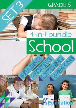 4-IN-1 BUNDLE- School (Set 3) – Grade 5