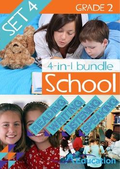 4-IN-1 BUNDLE- School (Set 4) – Grade 2