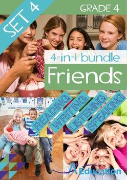 4-IN-1 BUNDLE- Friends (Set 4) - Grade 4
