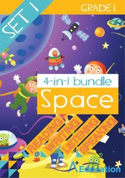 4-IN-1 BUNDLE - Space (Set 1) - Grade 1