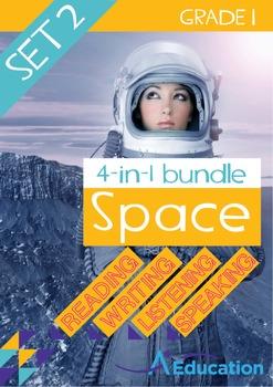 4-IN-1 BUNDLE - Space (Set 2) - Grade 1