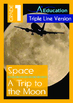 4-IN-1 BUNDLE- Space (Set 2) - Grade 1 (with 'Triple-Track Writing Lines')