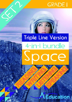 4-IN-1 BUNDLE- Space (Set 2) - Grade 1 (with 'Triple-Track