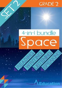 4-IN-1 BUNDLE - Space (Set 2) - Grade 2