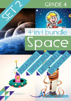 4-IN-1 BUNDLE - Space (Set 2) - Grade 4