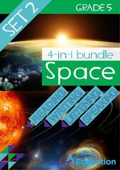 4-IN-1 BUNDLE - Space (Set 2) - Grade 5