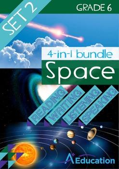 4-IN-1 BUNDLE - Space (Set 2) - Grade 6