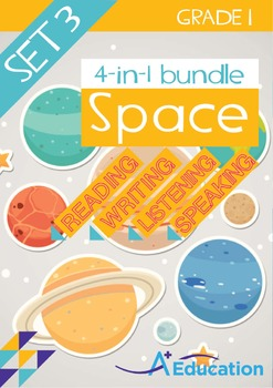 4-IN-1 BUNDLE - Space (Set 3) - Grade 1