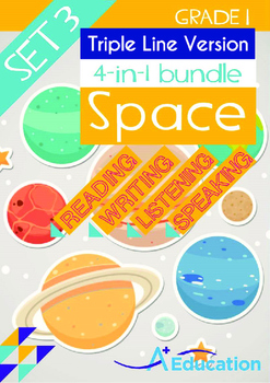 4-IN-1 BUNDLE- Space (Set 3) - Grade 1 (with 'Triple-Track