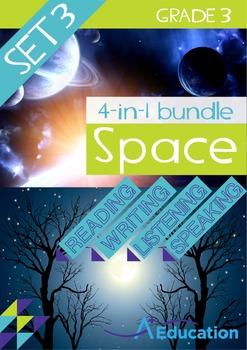4-IN-1 BUNDLE - Space (Set 3) - Grade 3