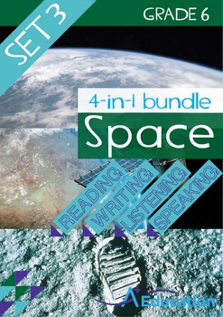 4-IN-1 BUNDLE - Space (Set 3) - Grade 6