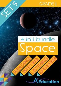 4-IN-1 BUNDLE - Space (Set 5) - Grade 1