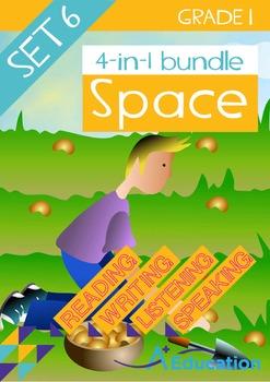 4-IN-1 BUNDLE - Space (Set 6) - Grade 1