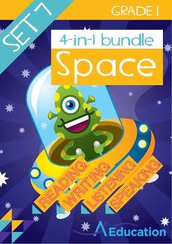 4-IN-1 BUNDLE - Space (Set 7) - Grade 1