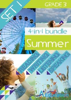 4-IN-1 BUNDLE- Summer (Set 1) – Grade 3